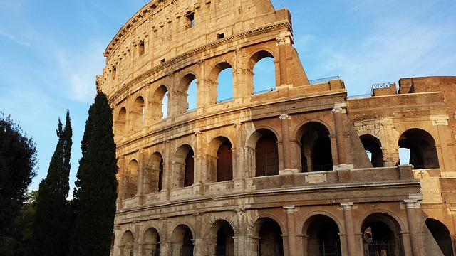 Das Colloseum in Rom